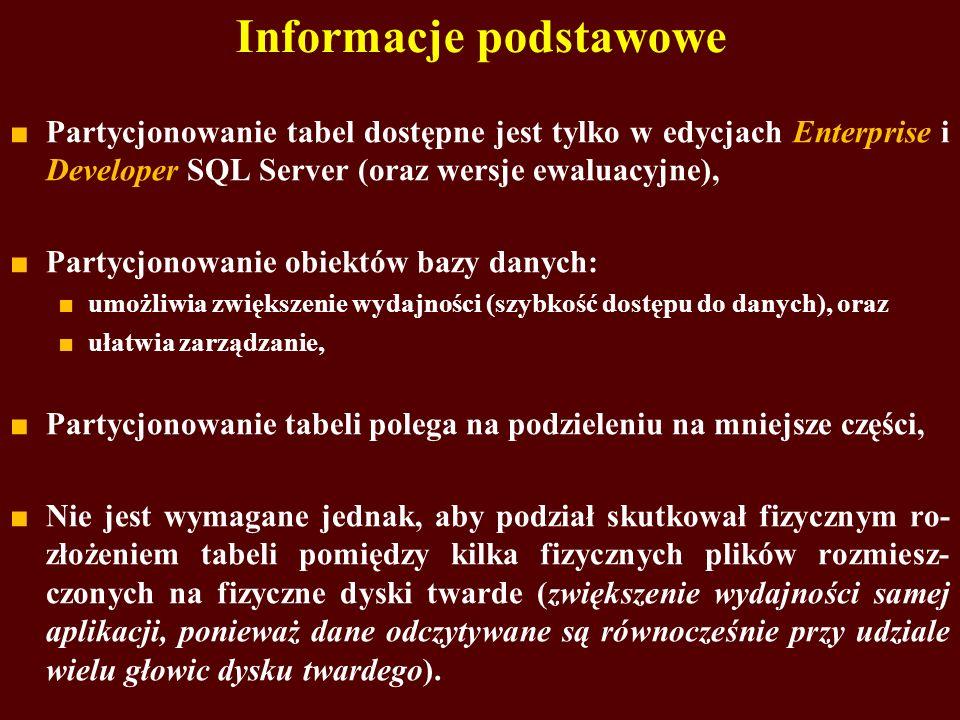 Informacje podstawowe