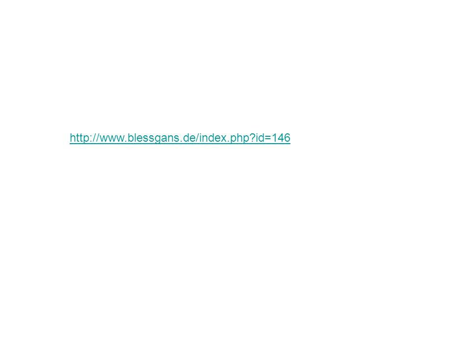 http://www.blessgans.de/index.php id=146