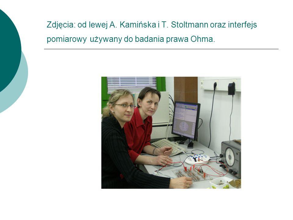 Zdjęcia: od lewej A. Kamińska i T