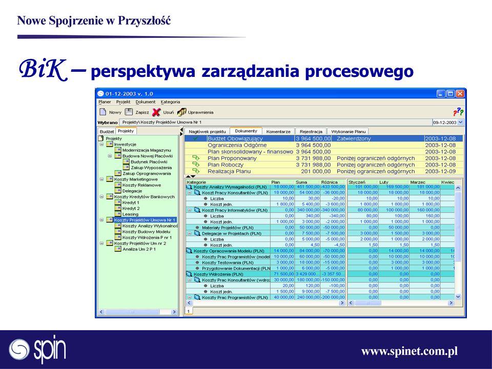 BiK – perspektywa zarządzania procesowego