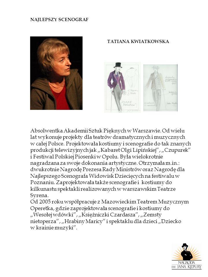 Absolwentka Akademii Sztuk Pięknych w Warszawie. Od wielu
