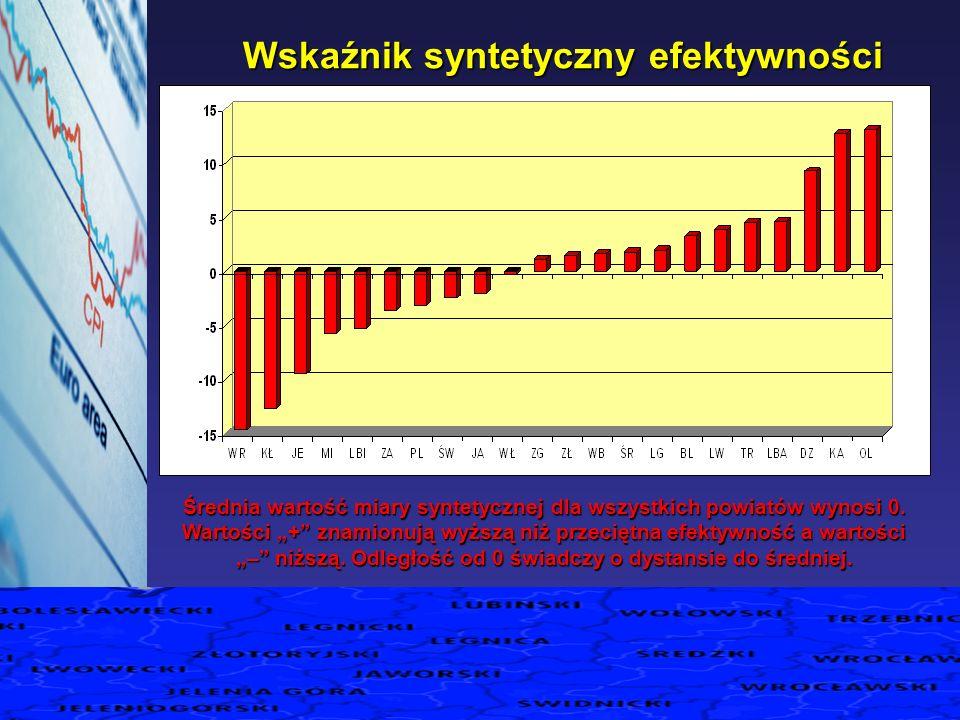 Wskaźnik syntetyczny efektywności