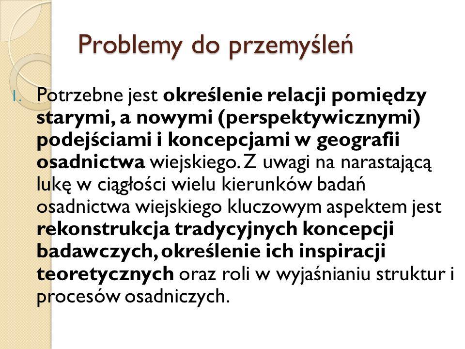 Problemy do przemyśleń