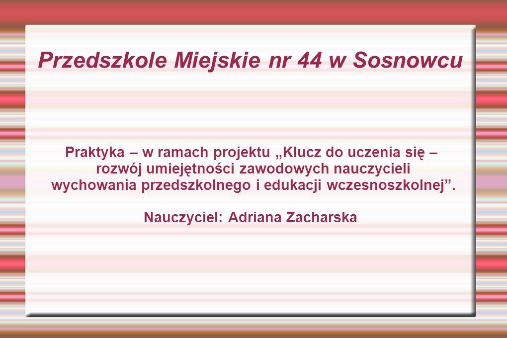 Przedszkole Miejskie nr 44 w Sosnowcu