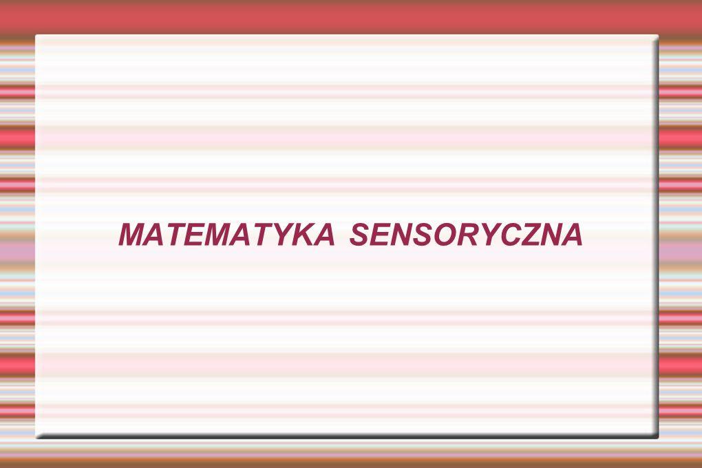 MATEMATYKA SENSORYCZNA