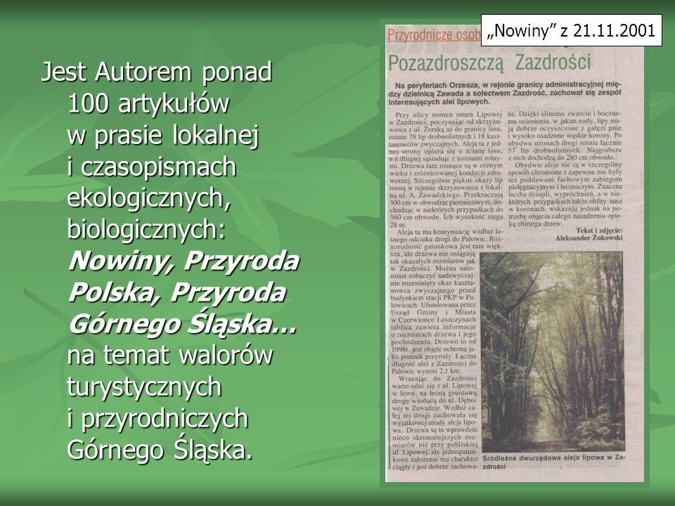 """""""Nowiny z 21.11.2001"""