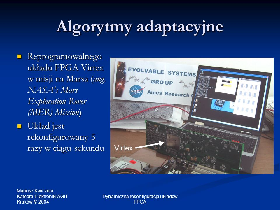 Algorytmy adaptacyjne