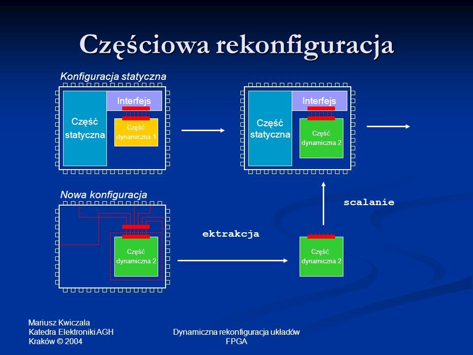 Częściowa rekonfiguracja