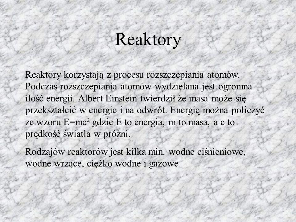 Reaktory