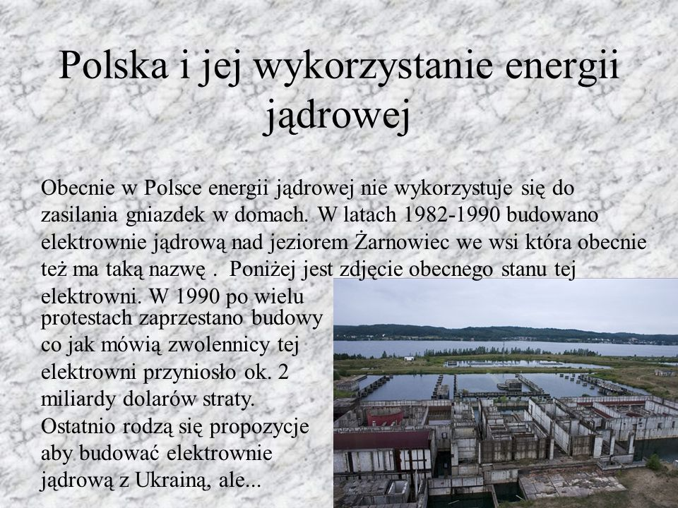 Polska i jej wykorzystanie energii jądrowej