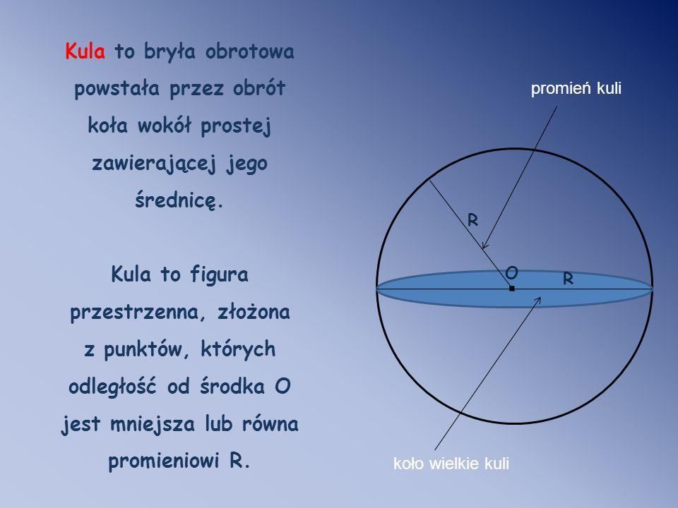 Kula to figura przestrzenna, złożona