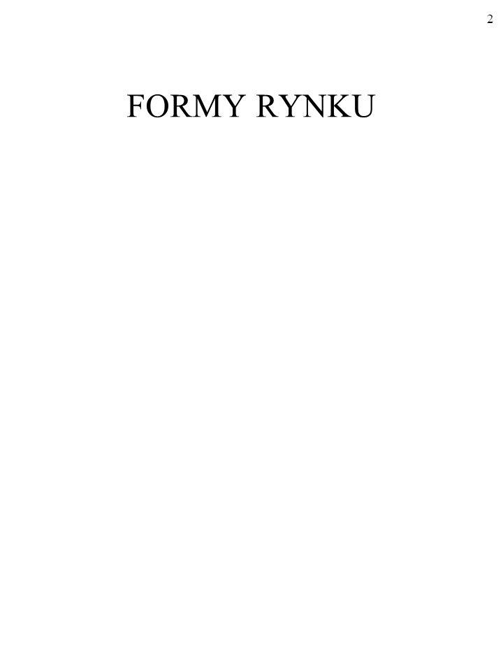 FORMY RYNKU