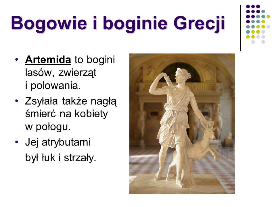 Bogowie i boginie Grecji