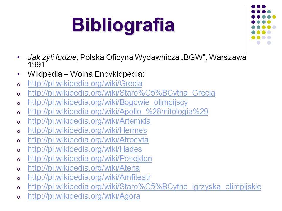 """BibliografiaJak żyli ludzie, Polska Oficyna Wydawnicza """"BGW , Warszawa 1991. Wikipedia – Wolna Encyklopedia:"""