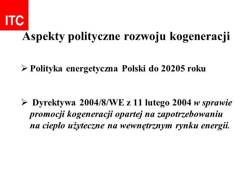 Aspekty polityczne rozwoju kogeneracji