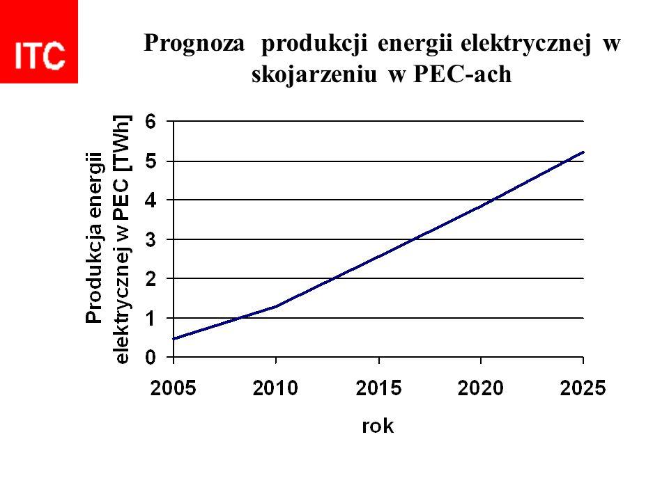 Prognoza produkcji energii elektrycznej w skojarzeniu w PEC-ach