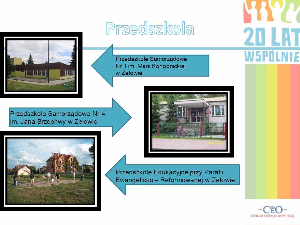 Przedszkola Przedszkole Samorządowe Nr 4 im. Jana Brzechwy w Zelowie