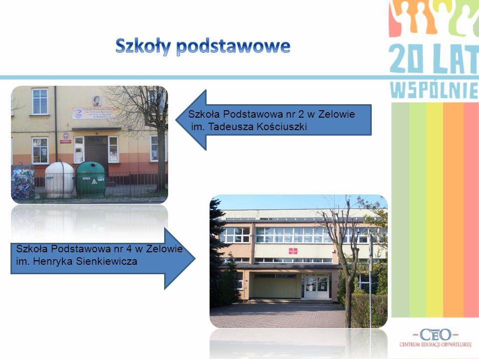 Szkoły podstawowe Szkoła Podstawowa nr 2 w Zelowie im.