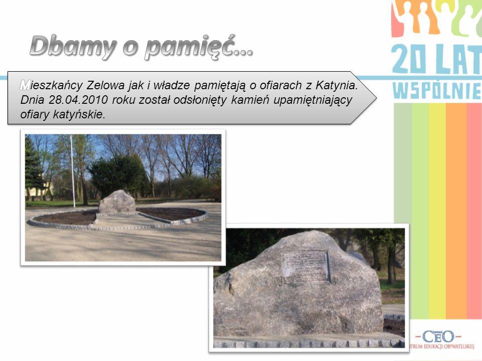 Dbamy o pamięć… Mieszkańcy Zelowa jak i władze pamiętają o ofiarach z Katynia.