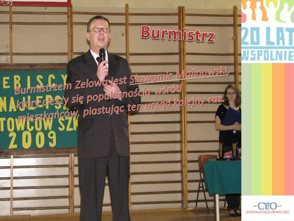 Burmistrz Burmistrzem Zelowa jest Sławomir Malinowski, który cieszy się popularnością wśród mieszkańców, piastując ten urząd kolejny raz.