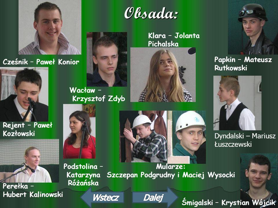 Podstolina – Katarzyna Szczepan Podgrudny i Maciej Wysocki