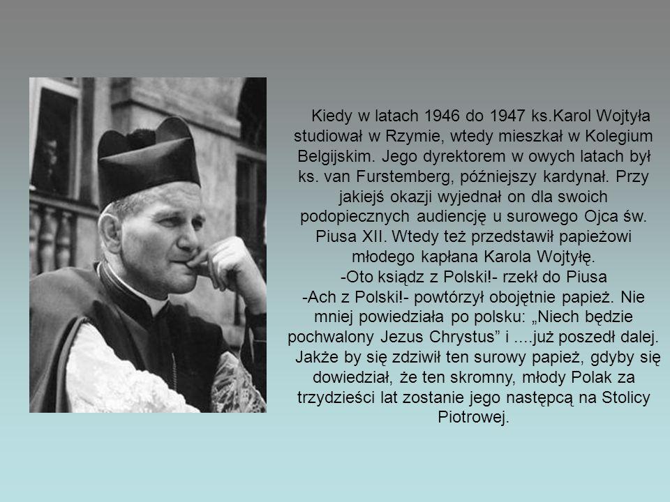 -Oto ksiądz z Polski!- rzekł do Piusa