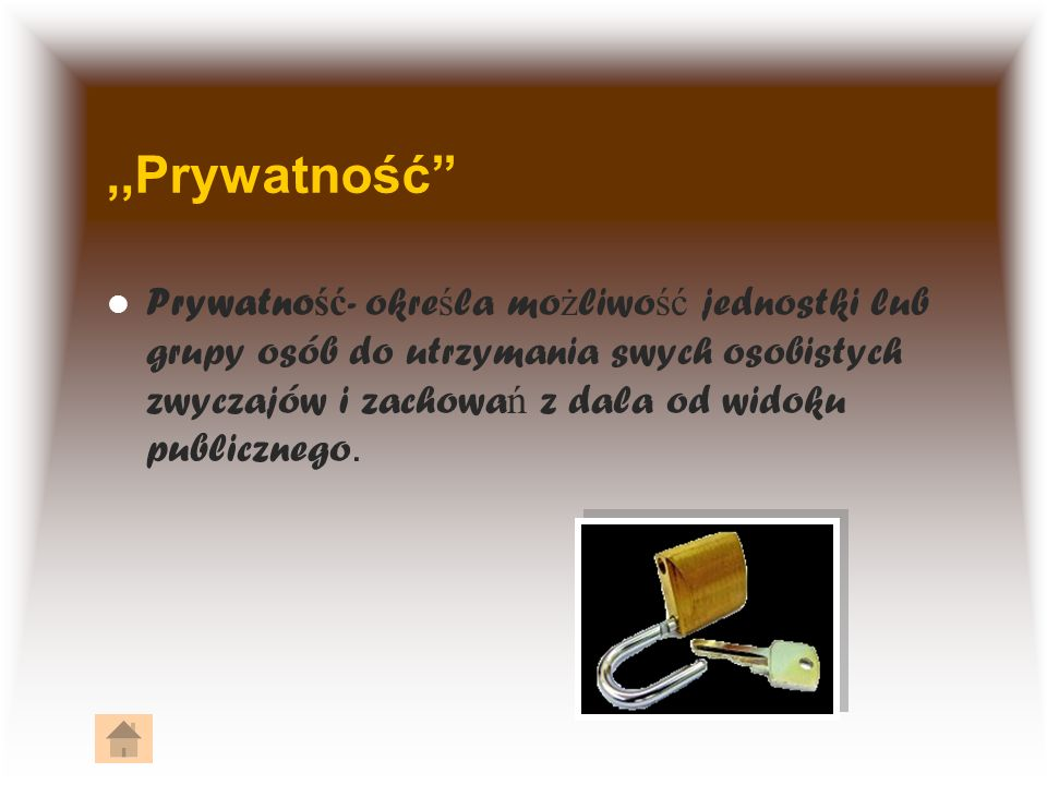 ,,Prywatność
