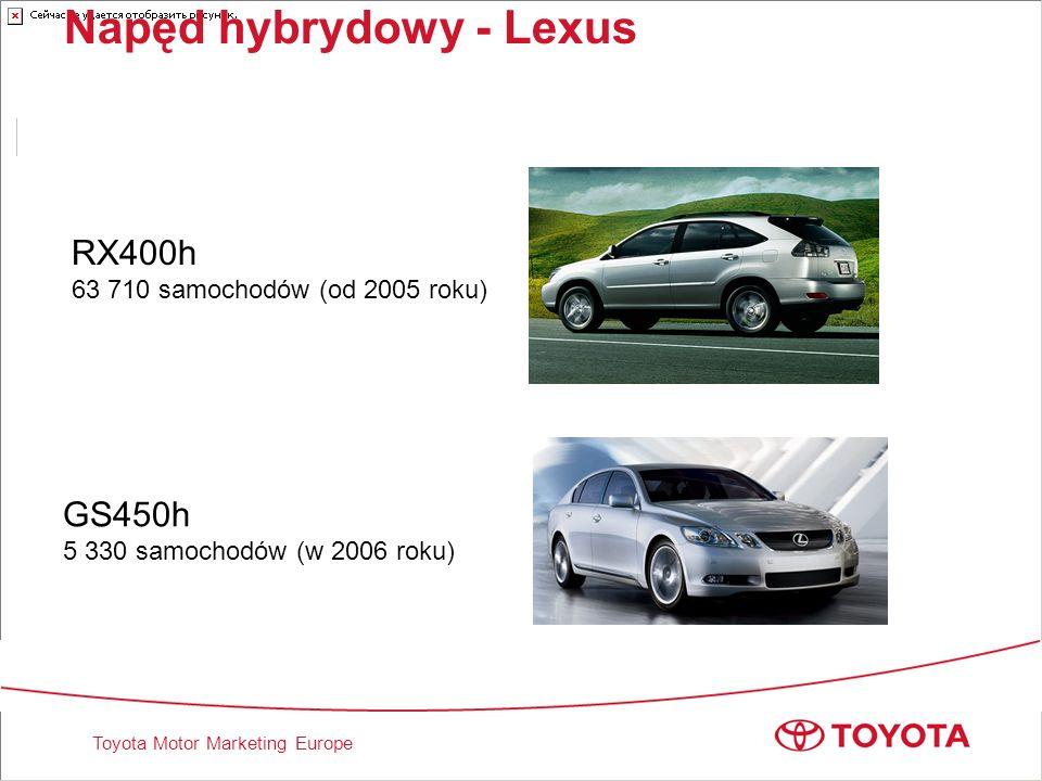 Napęd hybrydowy - Lexus