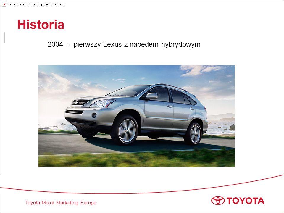 Historia 2004 - pierwszy Lexus z napędem hybrydowym