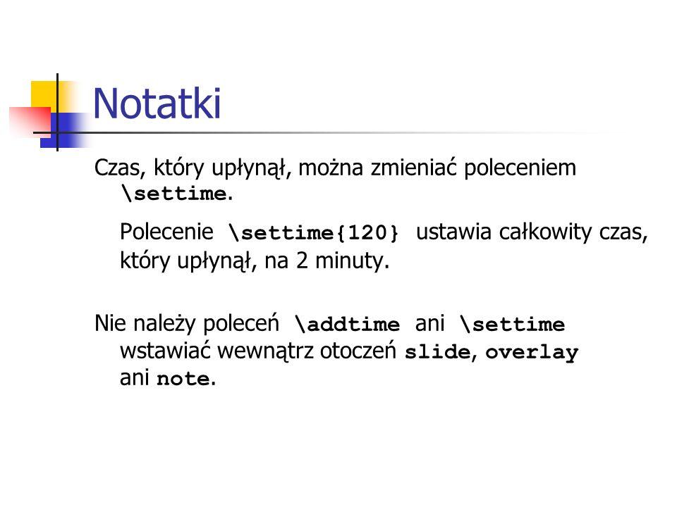 Notatki