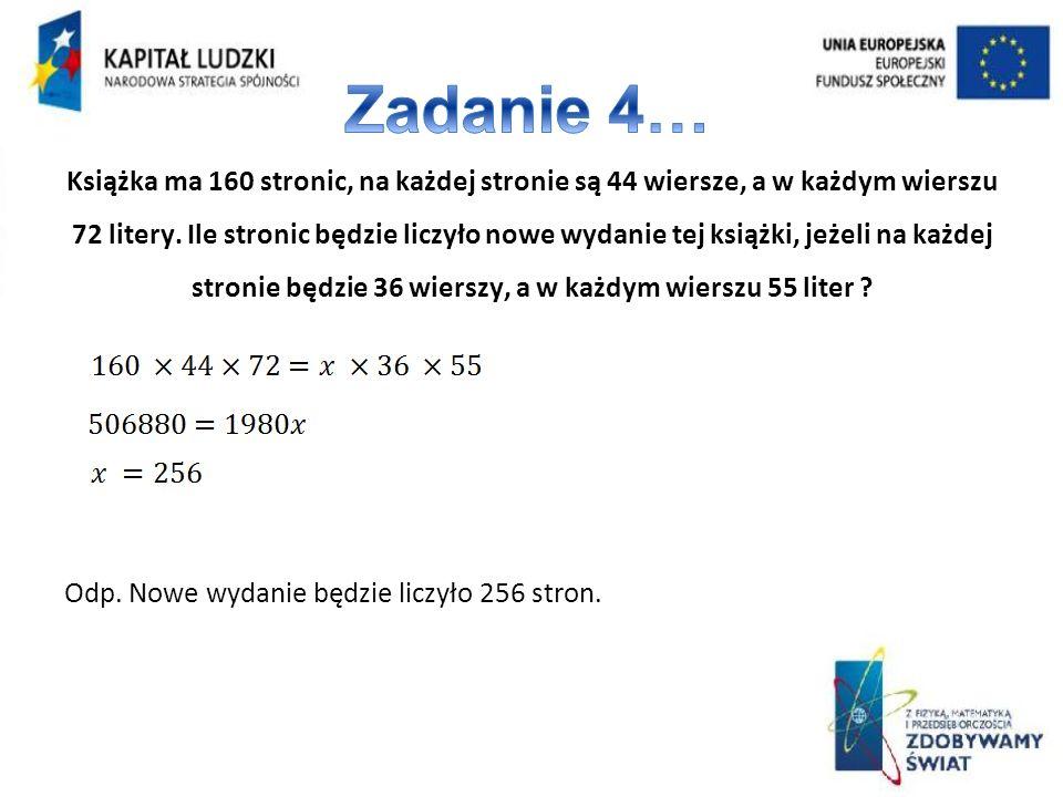 Zadanie 4…