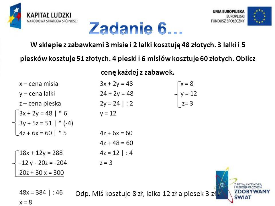 Zadanie 6…