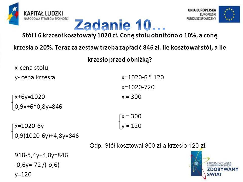 Zadanie 10…