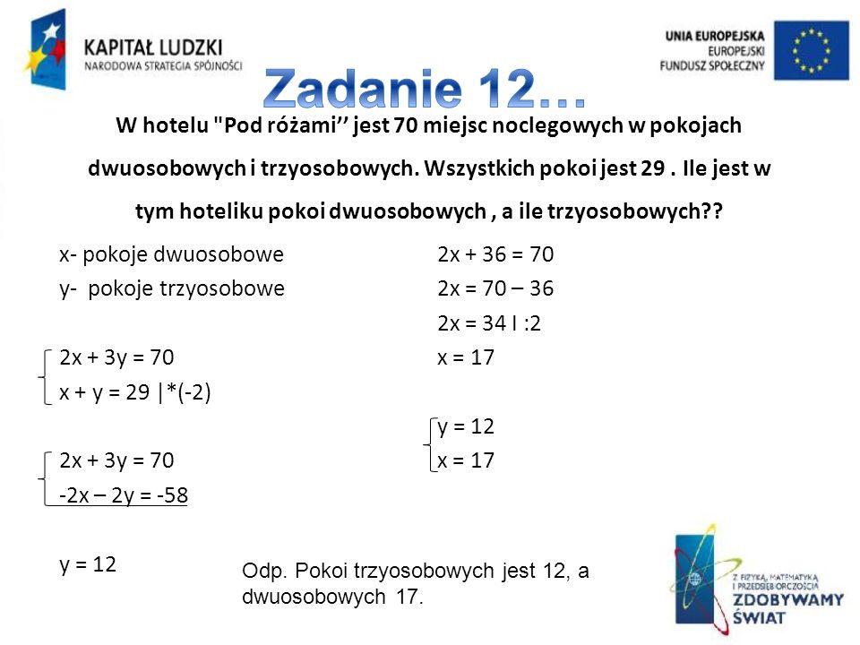 Zadanie 12…