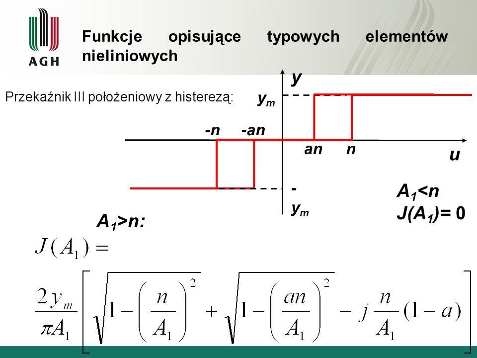 y u A1<n J(A1)= 0 A1>n: