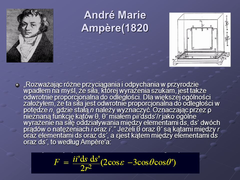 André Marie Ampère(1820
