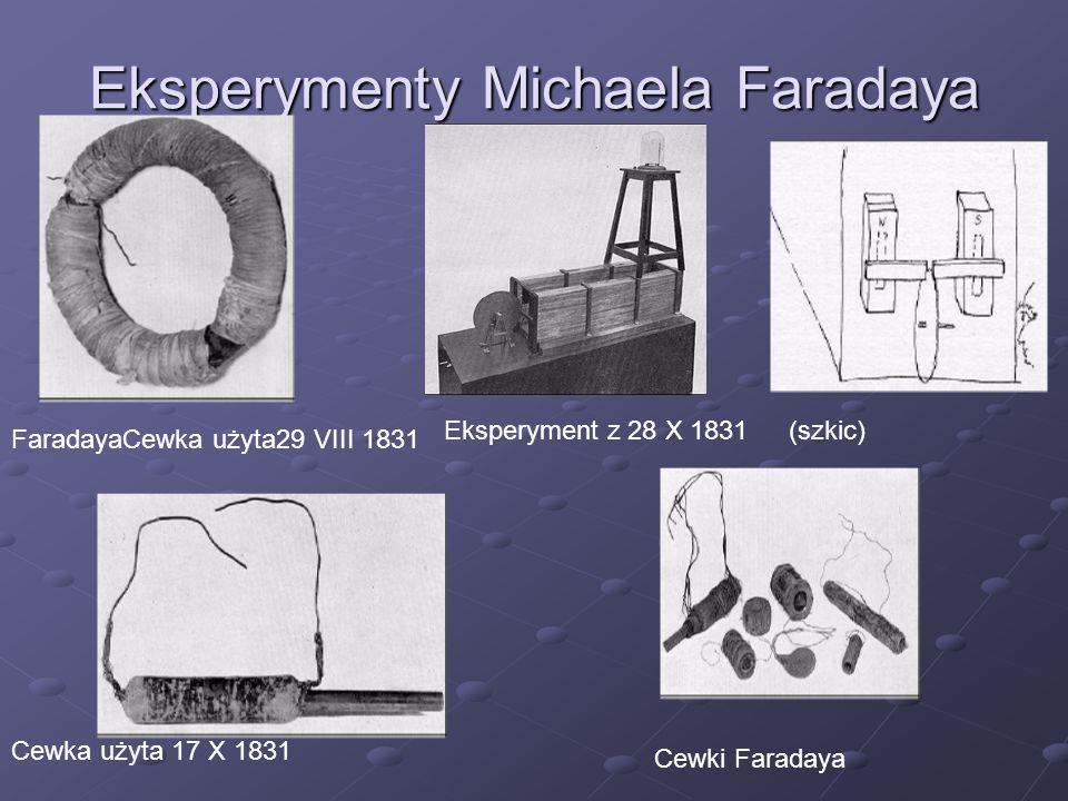 Eksperymenty Michaela Faradaya