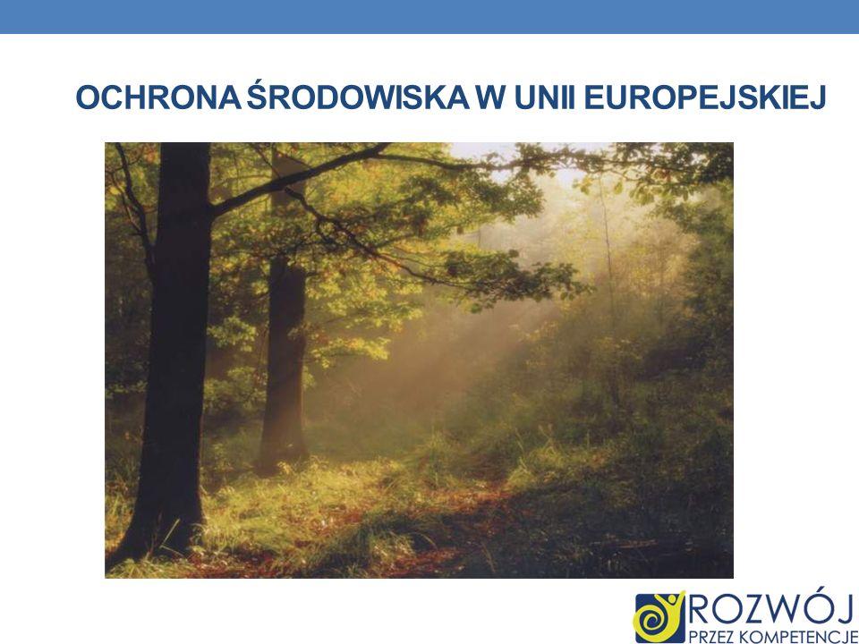 Ochrona środowiska w unii europejskiej