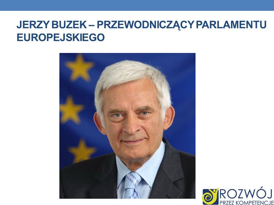 Jerzy Buzek – przewodniczący parlamentu europejskiego