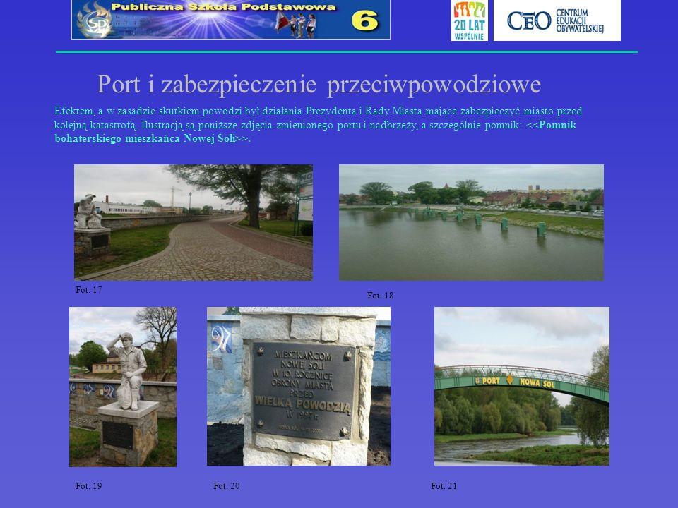 Port i zabezpieczenie przeciwpowodziowe