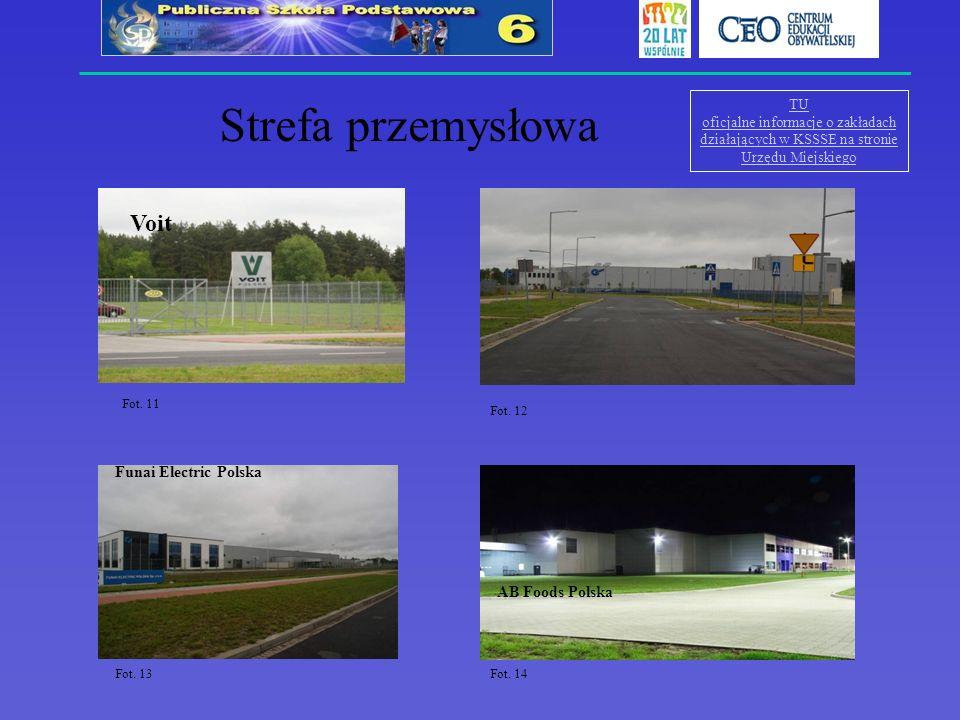 Strefa przemysłowa Voit Nord Napędy sp. z o.o Funai Electric Polska