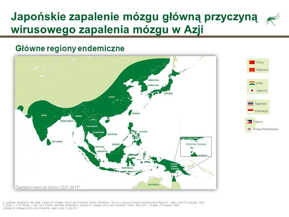 Japońskie zapalenie mózgu główną przyczyną wirusowego zapalenia mózgu w Azji