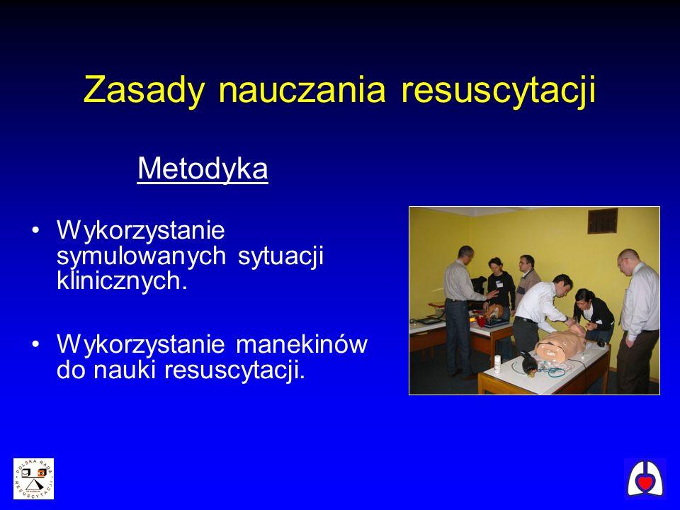 Zasady nauczania resuscytacji