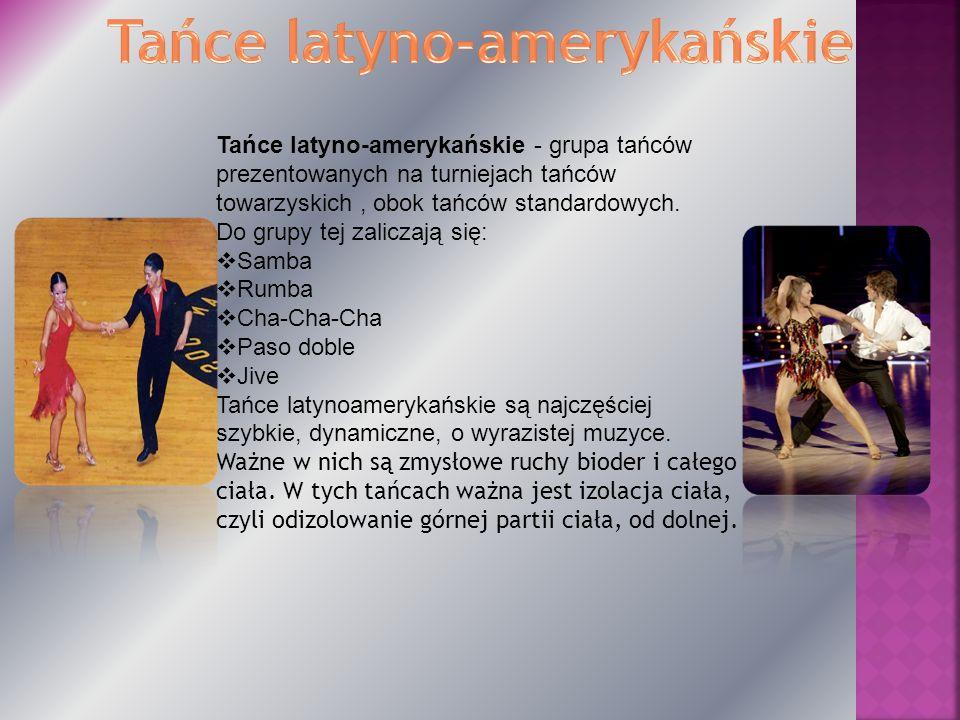 Tańce latyno-amerykańskie