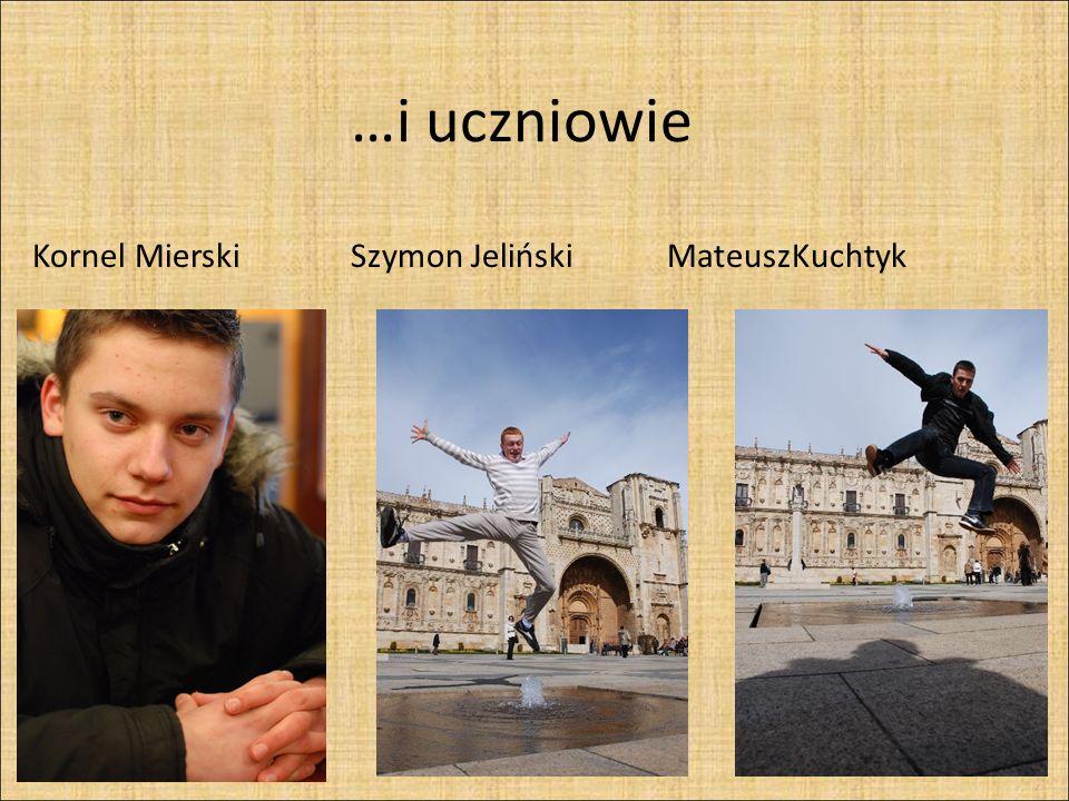 Kornel Mierski Szymon Jeliński MateuszKuchtyk