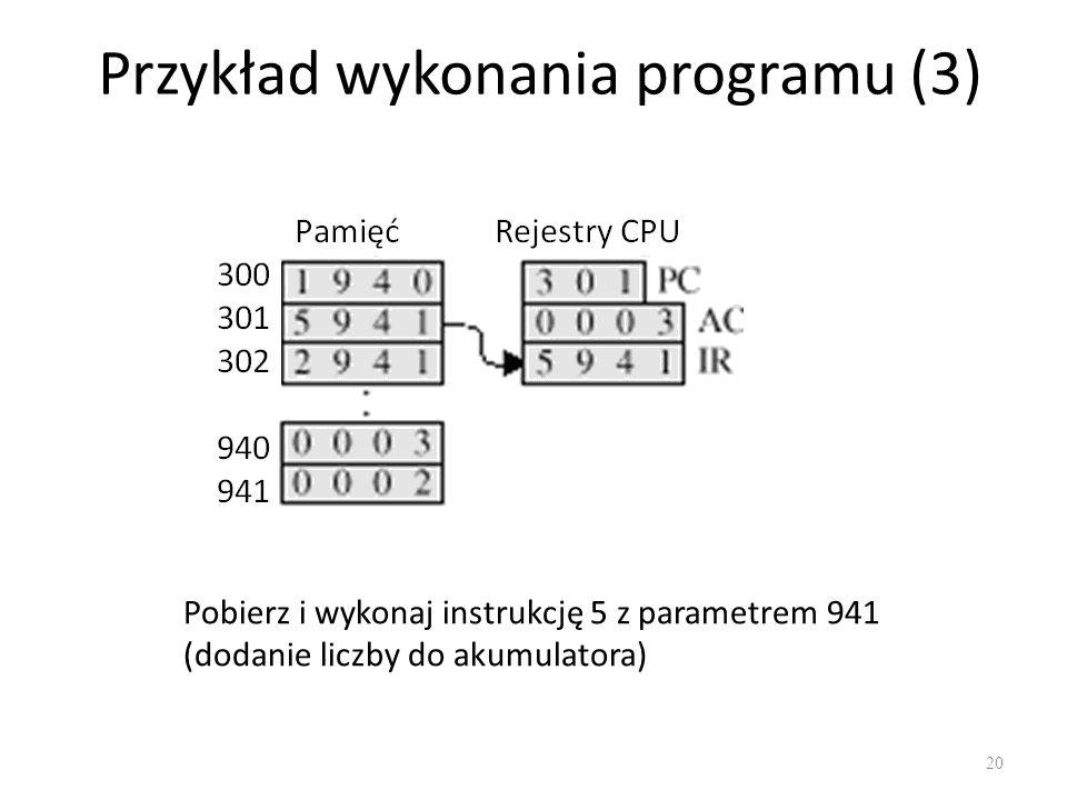 Przykład wykonania programu (3)