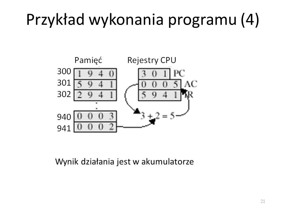 Przykład wykonania programu (4)