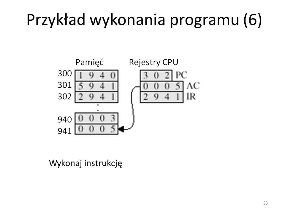 Przykład wykonania programu (6)