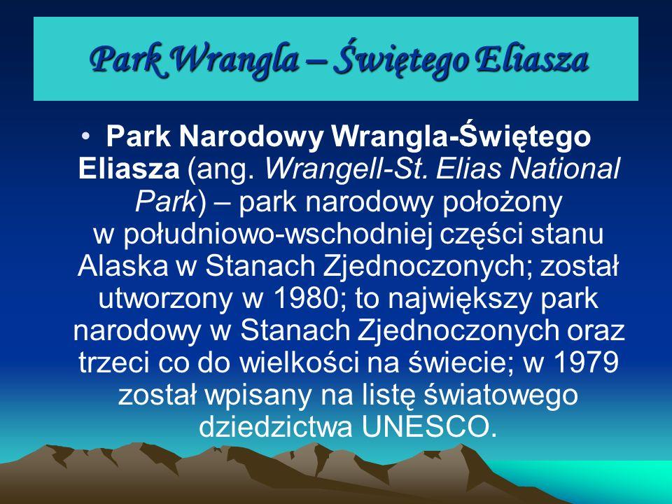Park Wrangla – Świętego Eliasza