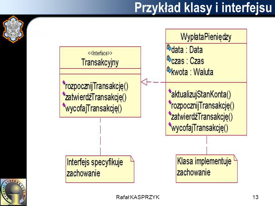 Przykład klasy i interfejsu